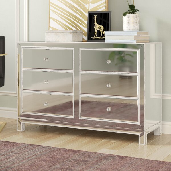 Mariaella 6 Drawer Double Dresser by Rosdorf Park
