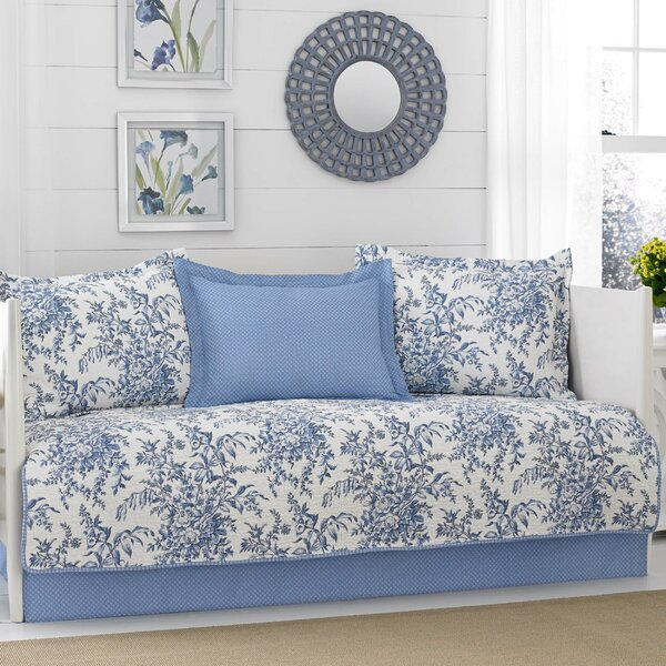 Bedford 5 Piece Reversible Quilt Set by Laura Ashley Home