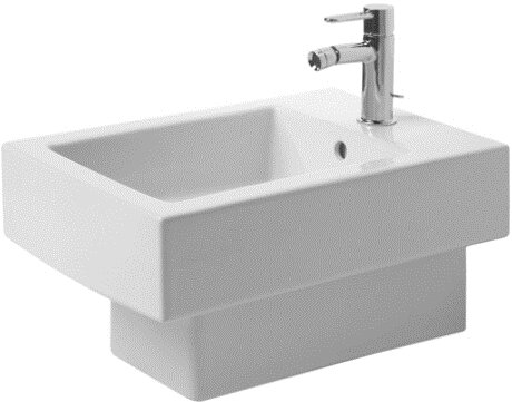 Vero Wall Mount Bidet by Duravit