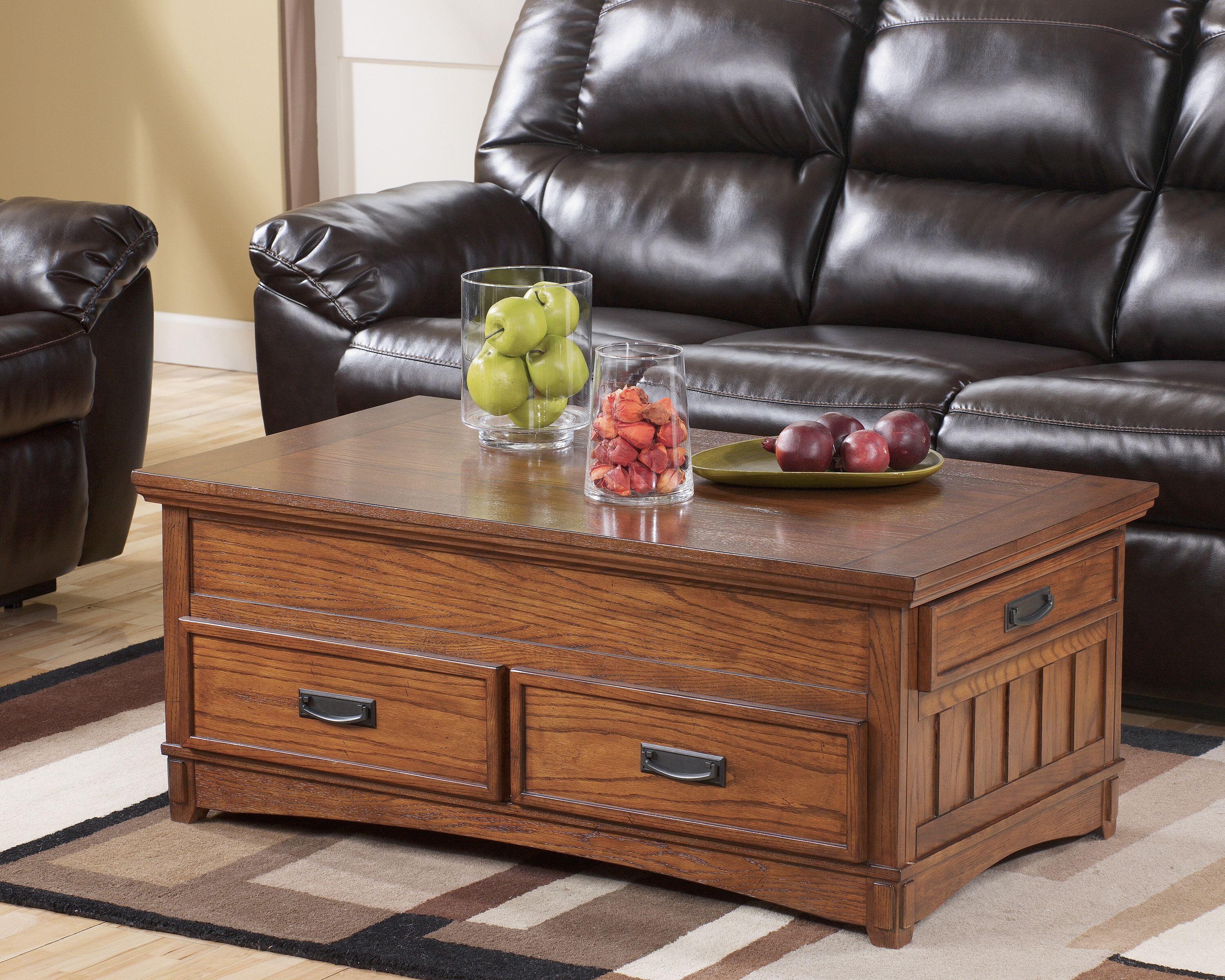 Loon Peak Barrett Trunk Coffee Table with Lift Top & Reviews