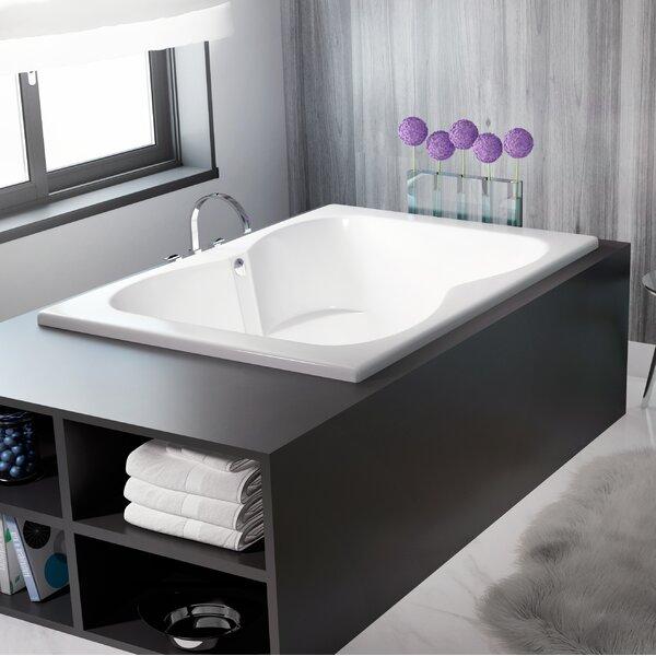 Mito 60 x 42 Drop In Air Bathtub by Jacuzzi®