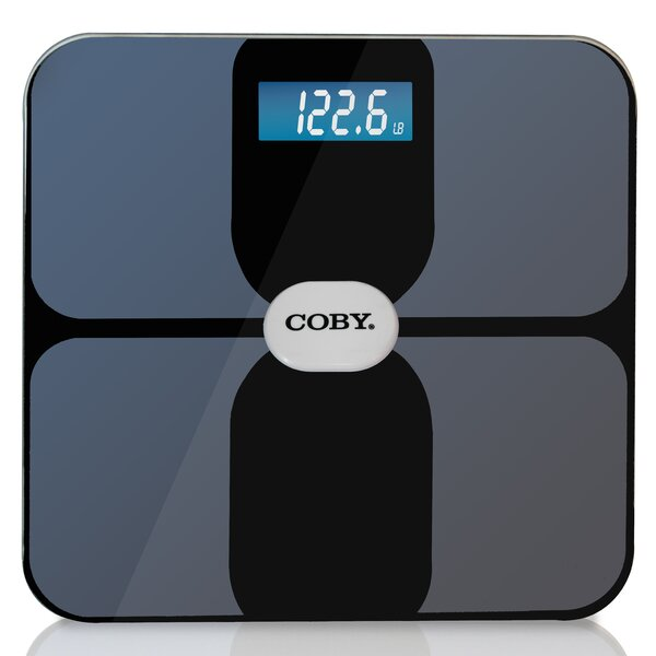 Smart Body Analysis Bathroom Digital Scale by COBY