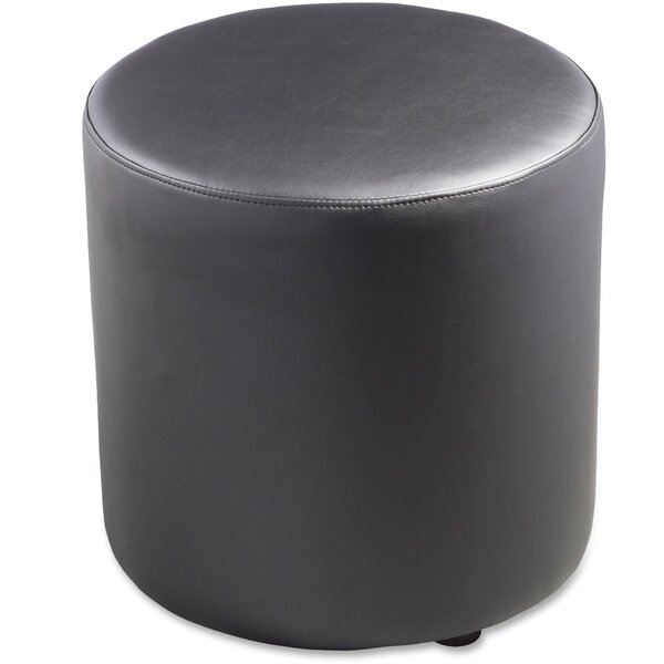 Leather Ottoman By Lorell
