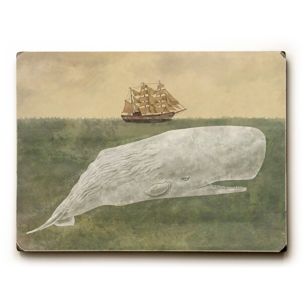Far from Nantucket Painting Print by Wrought Studio
