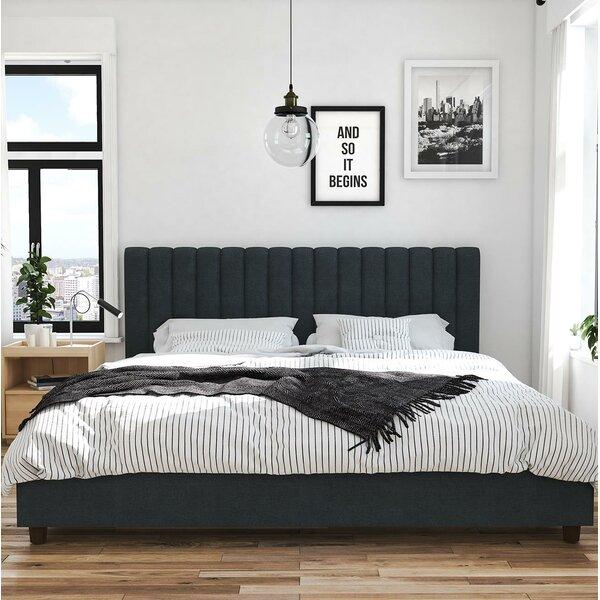 Brittany Upholstered Platform Bed by Novogratz