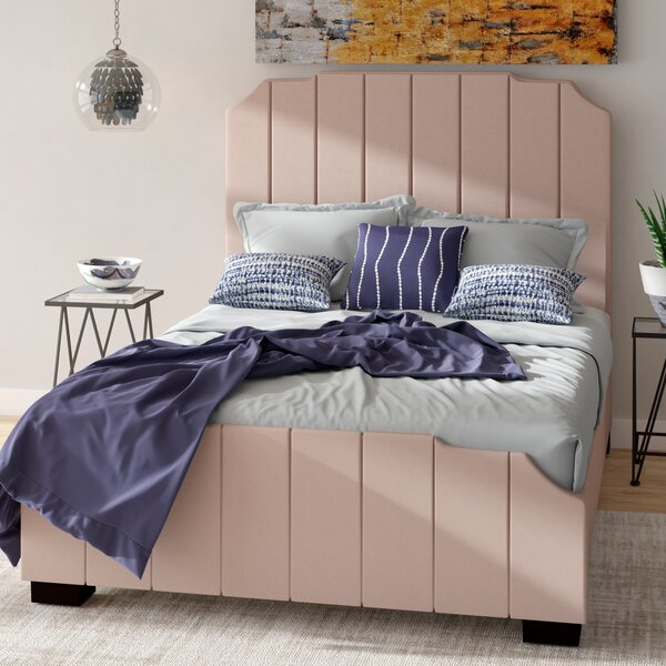Gladstone Upholstered Platform Bed by Brayden Studio