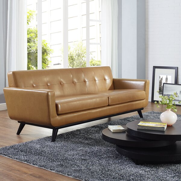 Trendy Modern Johnston Sofa by Langley Street by Langley Street