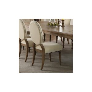 antonie oval upholstered dining chair set of 2