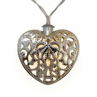 Online Reviews Solar Hearts Novelty String Lights By Touch of ECO