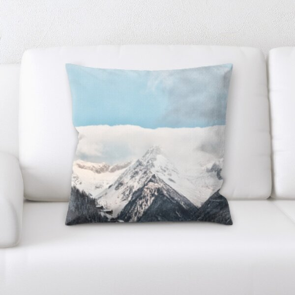 Winter Feeling (69) Throw Pillow by Rug Tycoon