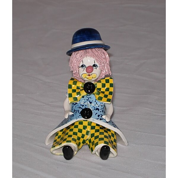 Zampiva Authentic Shelf Sitting Clown Figurine by Three Star Im/Ex Inc.