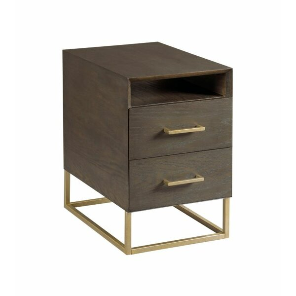 Ansel Charging End Table with Storage by Ivy Bronx