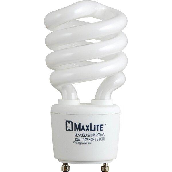 Spiral Fluorescent Bulb in Warm White by Progress Lighting