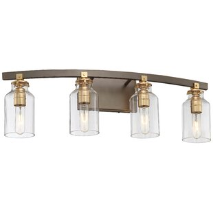 Reviews Alysa 4-Light Vanity Light By Williston Forge