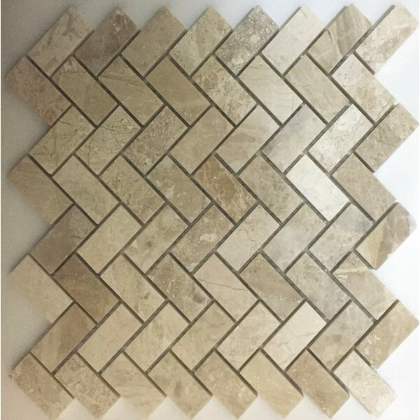 1 x 2 Mosaic Tile in Diana Royal by Ephesus Stones