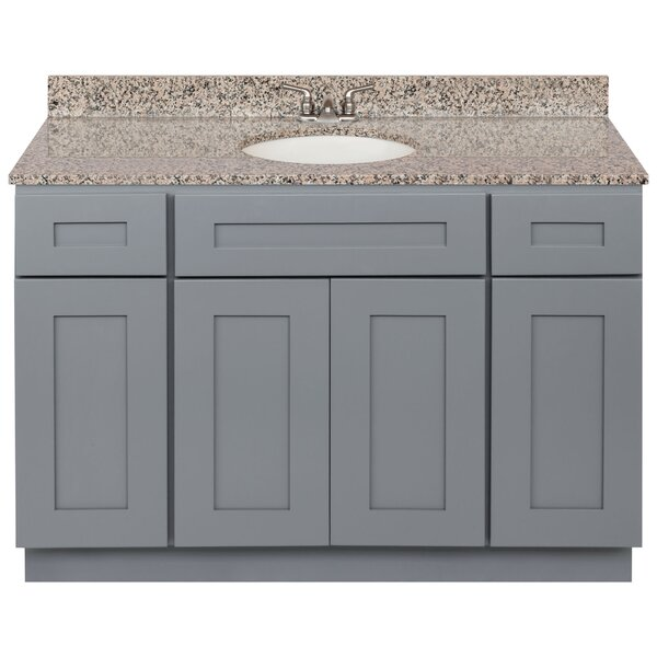 Strachan 48 Single Bathroom Vanity Set by Winston Porter