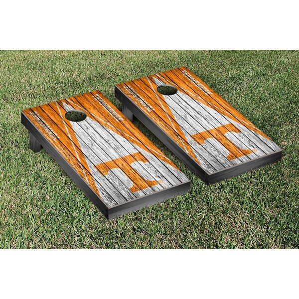 Triangle Weathered Version Cornhole by Victory Tai