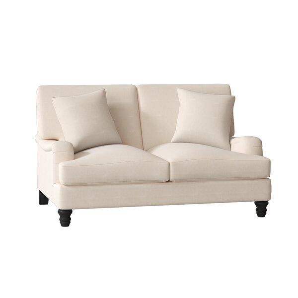 Delphine Loveseat by Wayfair Custom Upholstery™
