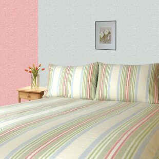 Huseman Twill Striped 300 Thread Count 100% Cotton Sheet Set By Red Barrel Studio