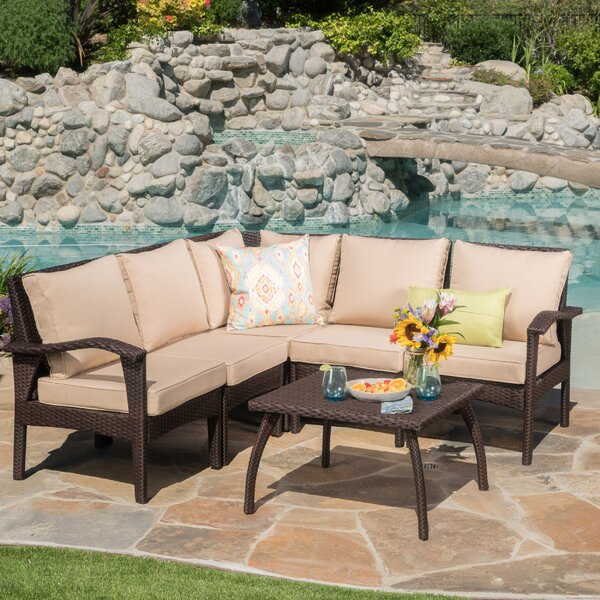 Townsend 6 Piece Sectional Set with Cushions by Be