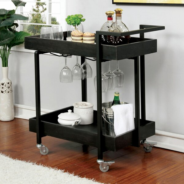 Milano Serving Cart by Latitude Run Latitude Run