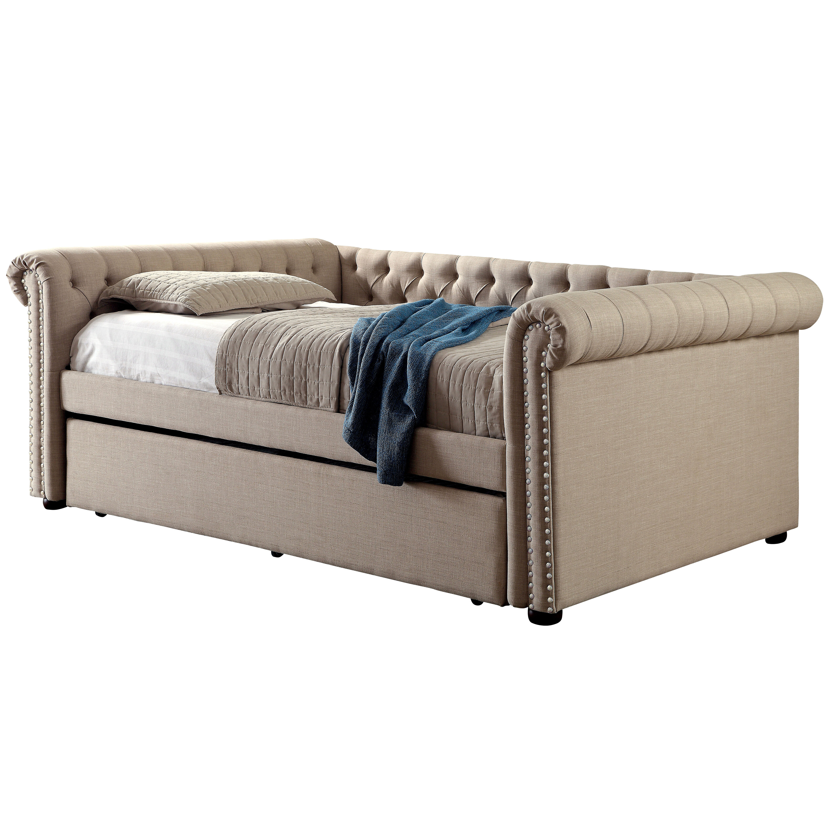 - Charlton Home Dierking Queen Daybed With Trundle & Reviews Wayfair