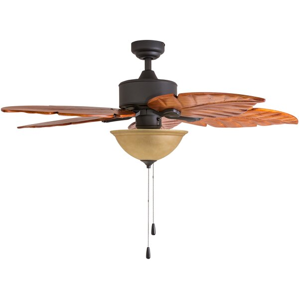 52 St. Marks Bowl Light 5-Blade Ceiling Fan by Calcutta