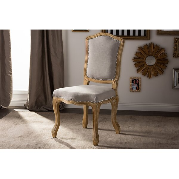 Brisa French Upholstered Dining Chair by Ophelia & Co. Ophelia & Co.