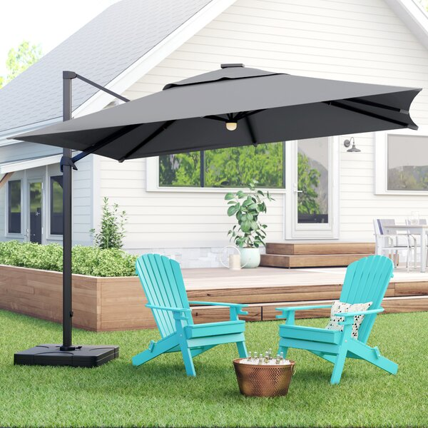 Jendayi Square Cantilever Umbrella By Latitude Run by Latitude Run No Copoun