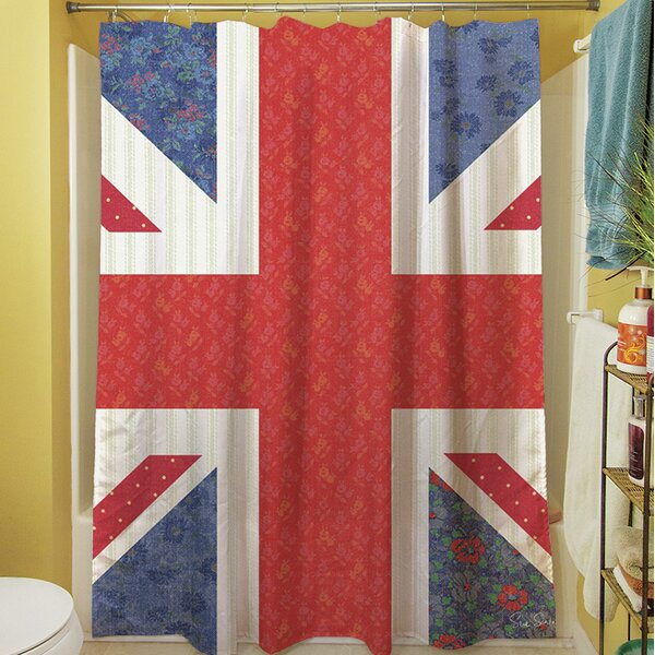 Mini Print Union Shower Curtain by Manual Woodworkers & Weavers