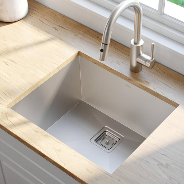Pax™ 22.5 x 18.5 Undermount Kitchen Sink by Kraus
