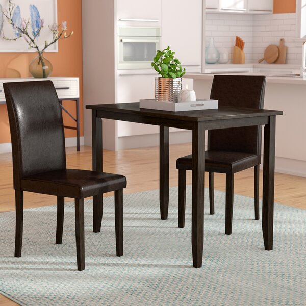 Baillie 3 Piece Dining Set by Latitude Run Latitude Run