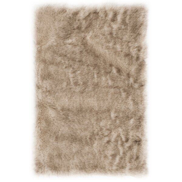 Bilberry Beige Area Rug by Mercer41