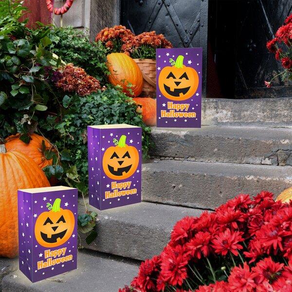Pumpkin Plastic Luminaria Bag by LumaBasePumpkin Plastic Luminaria Bag by LumaBase