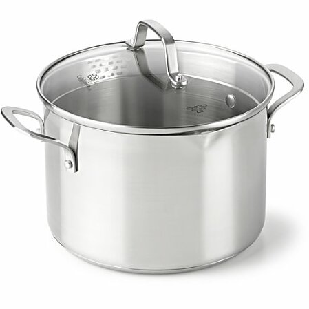 Classic Stainless Steel Stock Pot by Calphalon