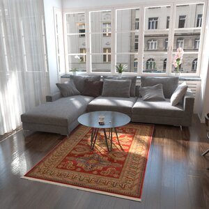 Valley Red Area Rug