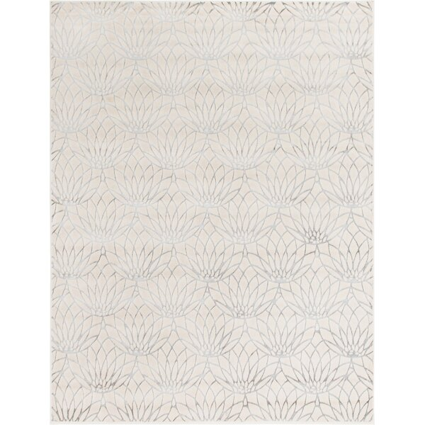 Glam Ivory Area Rug by Marilyn Monroe
