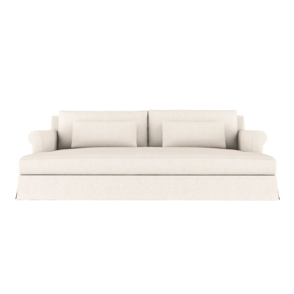 Autberry Vintage Leather Sleeper Sofa by Canora Grey