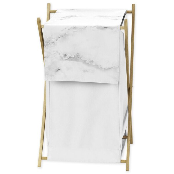 Marble Laundry Hamper by Sweet Jojo Designs