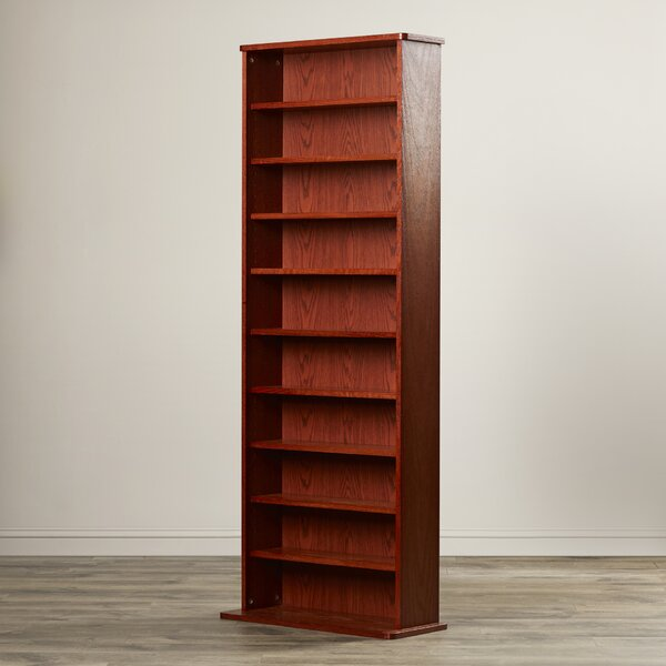 Conners Multimedia Standard Bookcase by Charlton Home