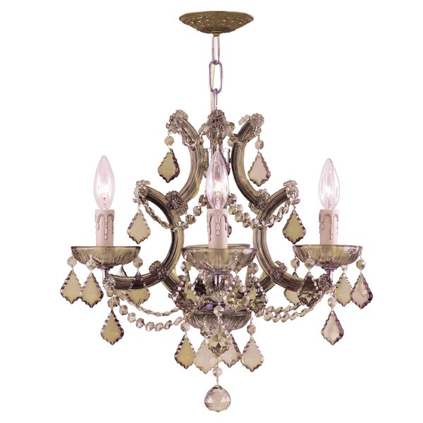 Milan 4-Light Candle Style Chandelier by House of Hampton