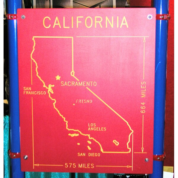 California State Panel by Kidstuff Playsystems, Inc.