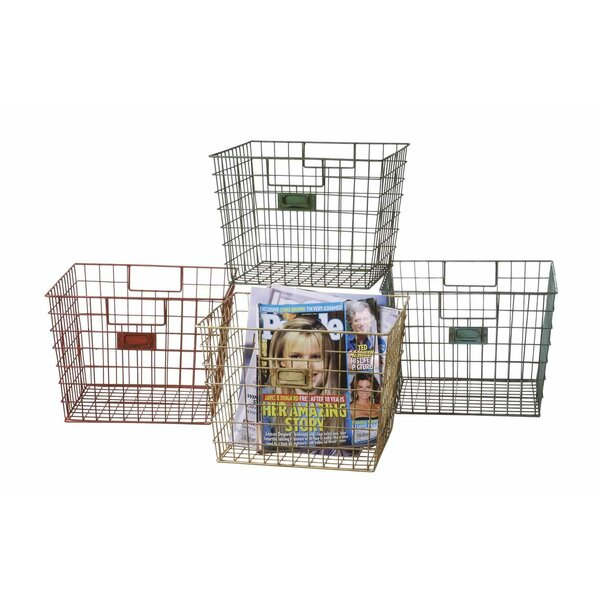 Schoolhouse Metal Basket Set by Birch Lane Kids™