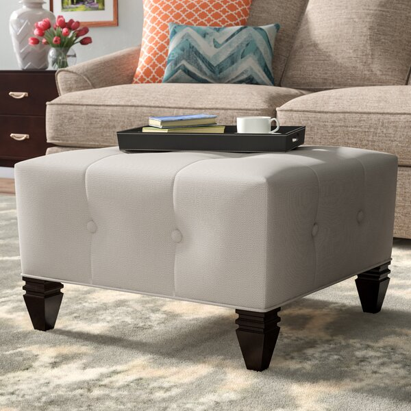 Hobson Tufted Cocktail Ottoman by Darby Home Co