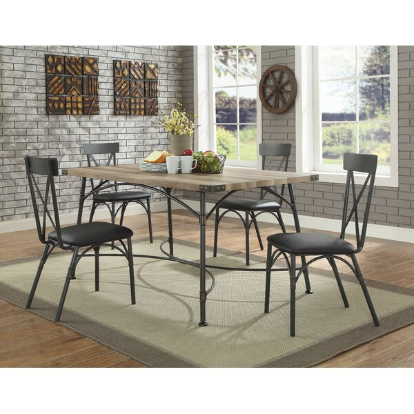 Rutledge 5 Piece Dining Set By 17 Stories