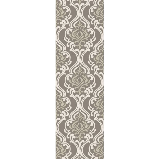 Bastien Hand-Hooked Forest/Ivory Area Rug by One Allium Way