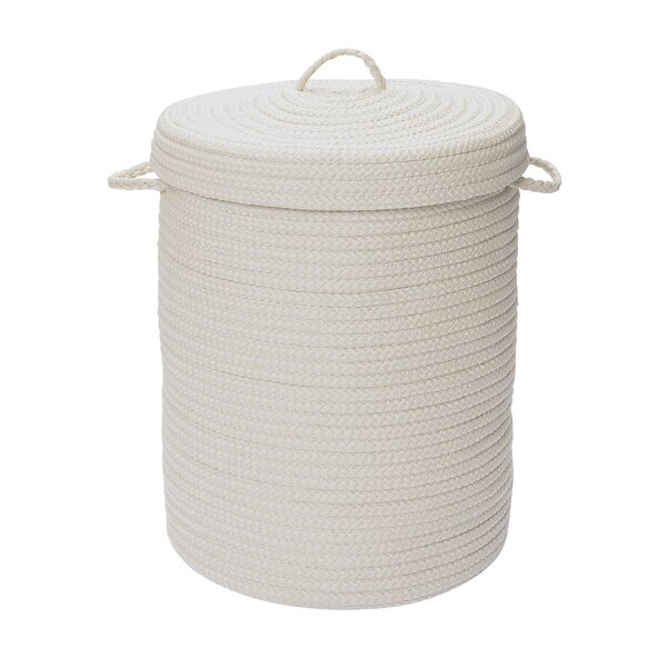 Traditional Polypropylene Laundry Hamper by Charlton Home