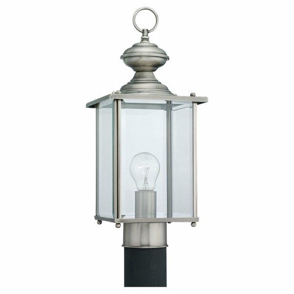 Hobscheid Outdoor Post Lantern by Bloomsbury Market
