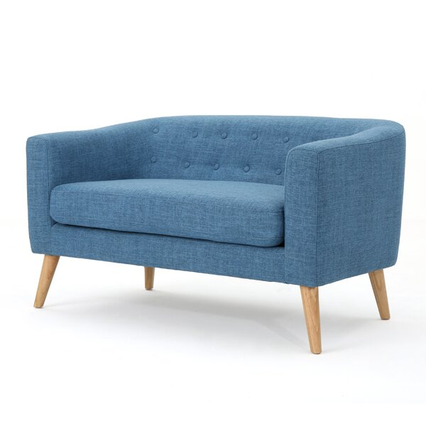 Pina Fabric Loveseat by Zipcode Design