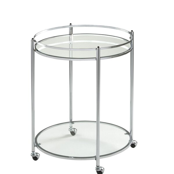 Feurstein Round Bar Cart by Orren Ellis Orren Ellis